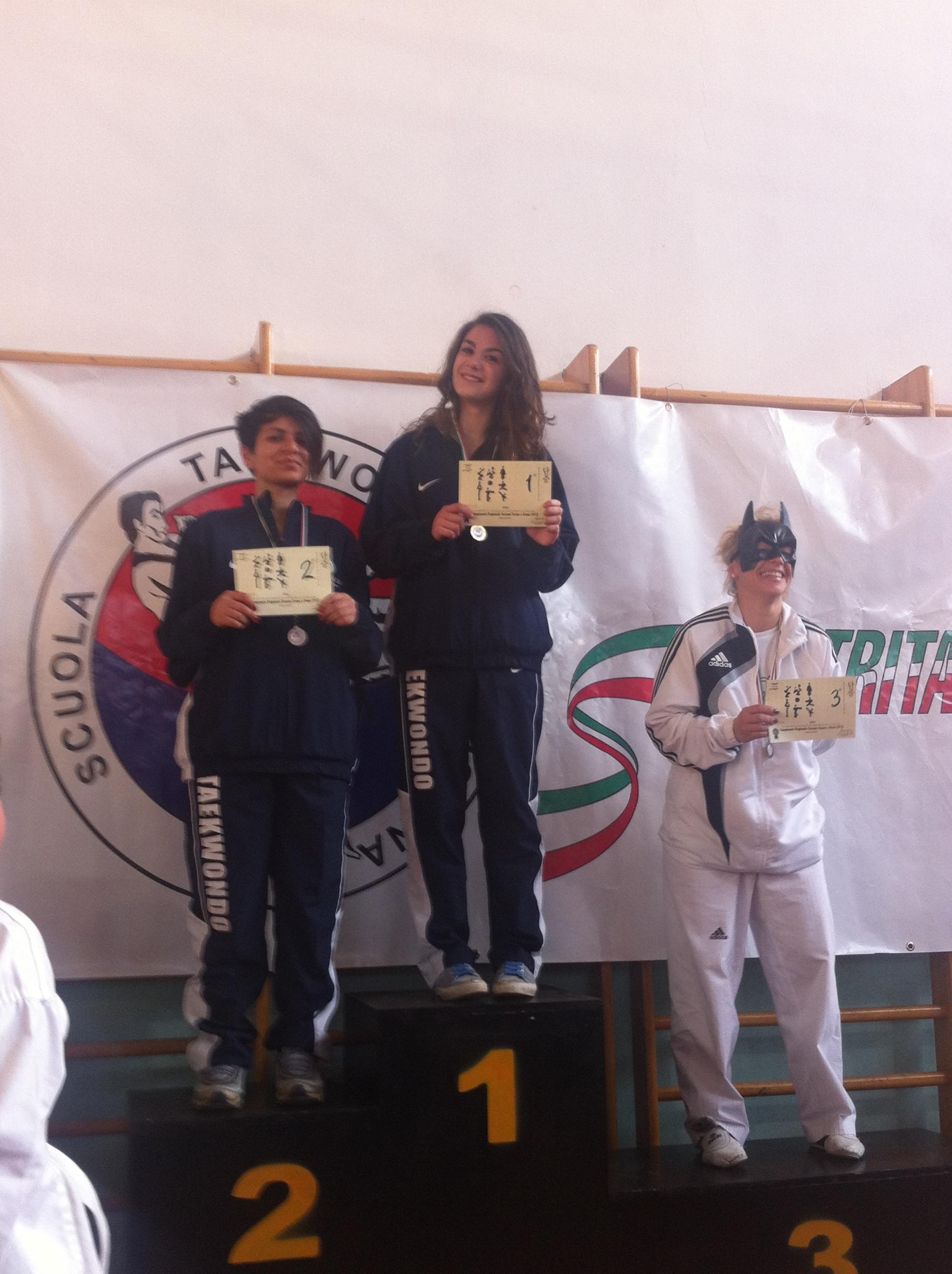 La Kouros Taekwondo fa incetta di medaglie ai campionati regionali