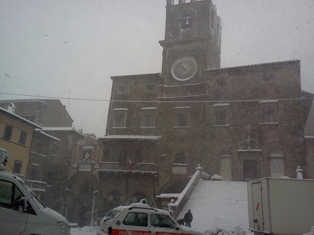 Aggiornamento neve: il quadro della situazione in Valdichiana, foto, previsioni