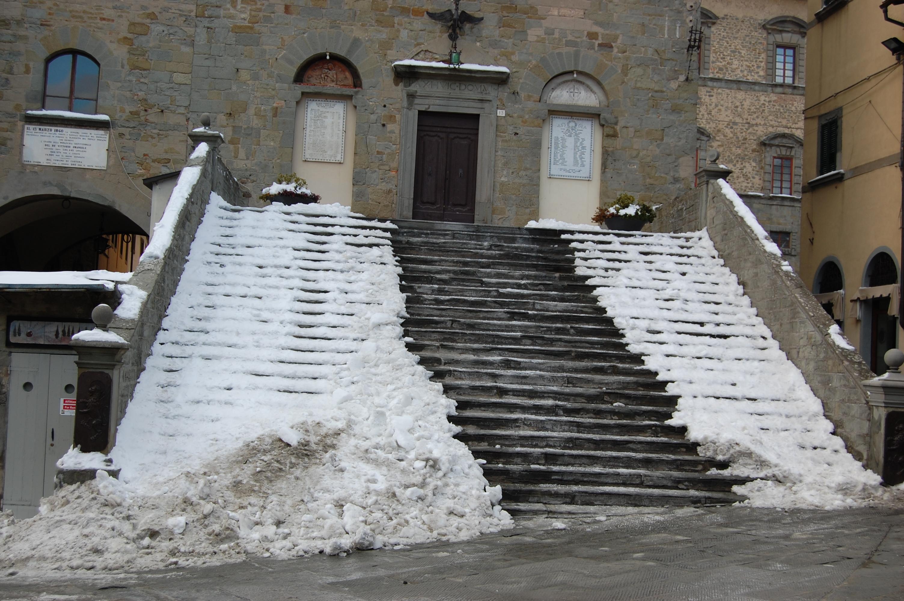 La neve si scioglie...i problemi rimangono
