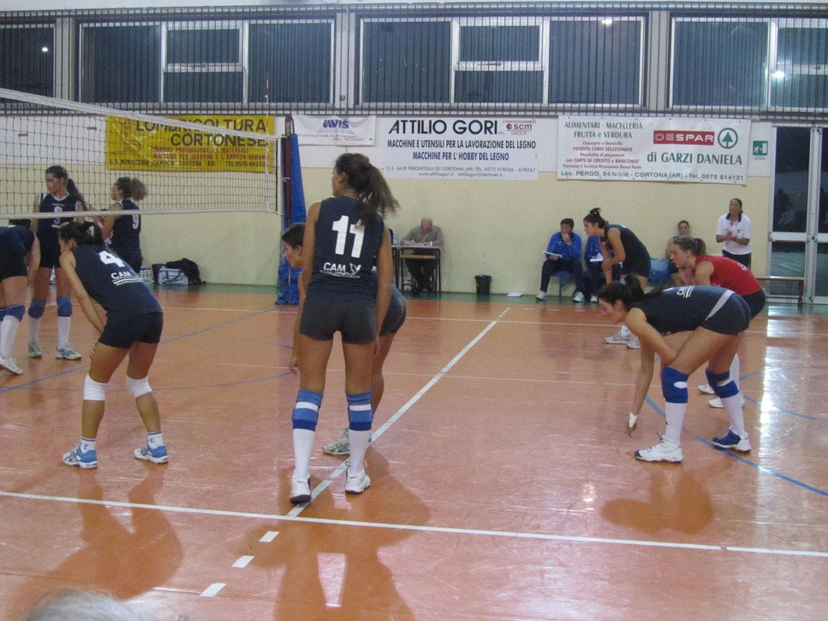 Cortona Volley: squadra femminile sugli scudi, rientra con un 3 a 0