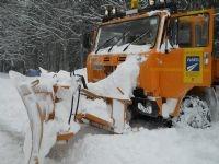 Neve: aggiornamento sulla viabilità in provincia di Arezzo
