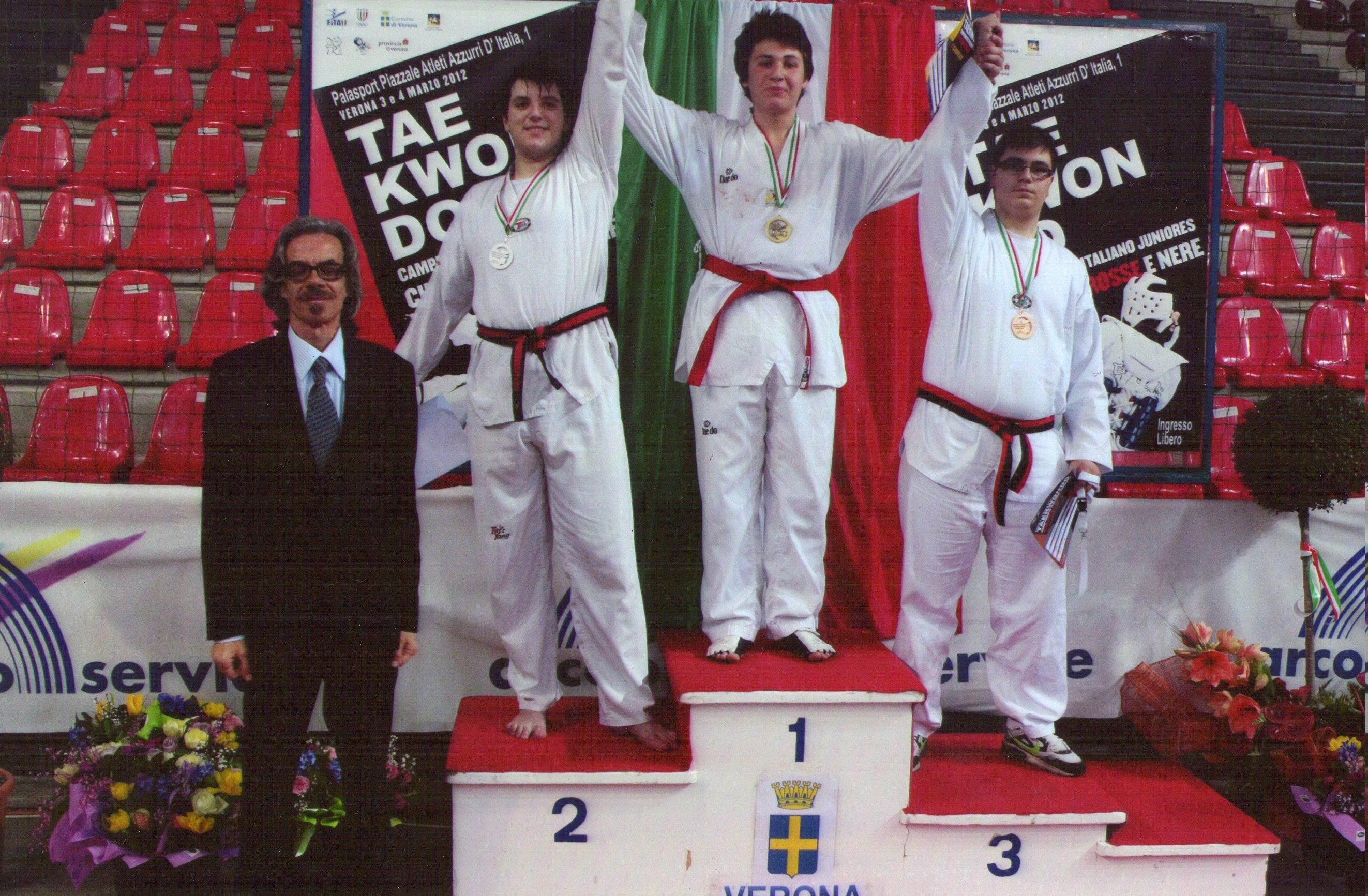 Taekwondo: il castiglionese Kevin Noccioletti campione italiano