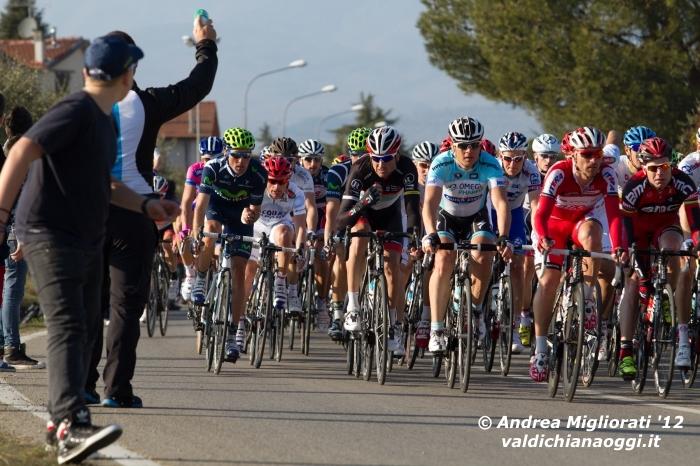 Rinaldo Nocentini pimpante alla Tirreno-Adriatico