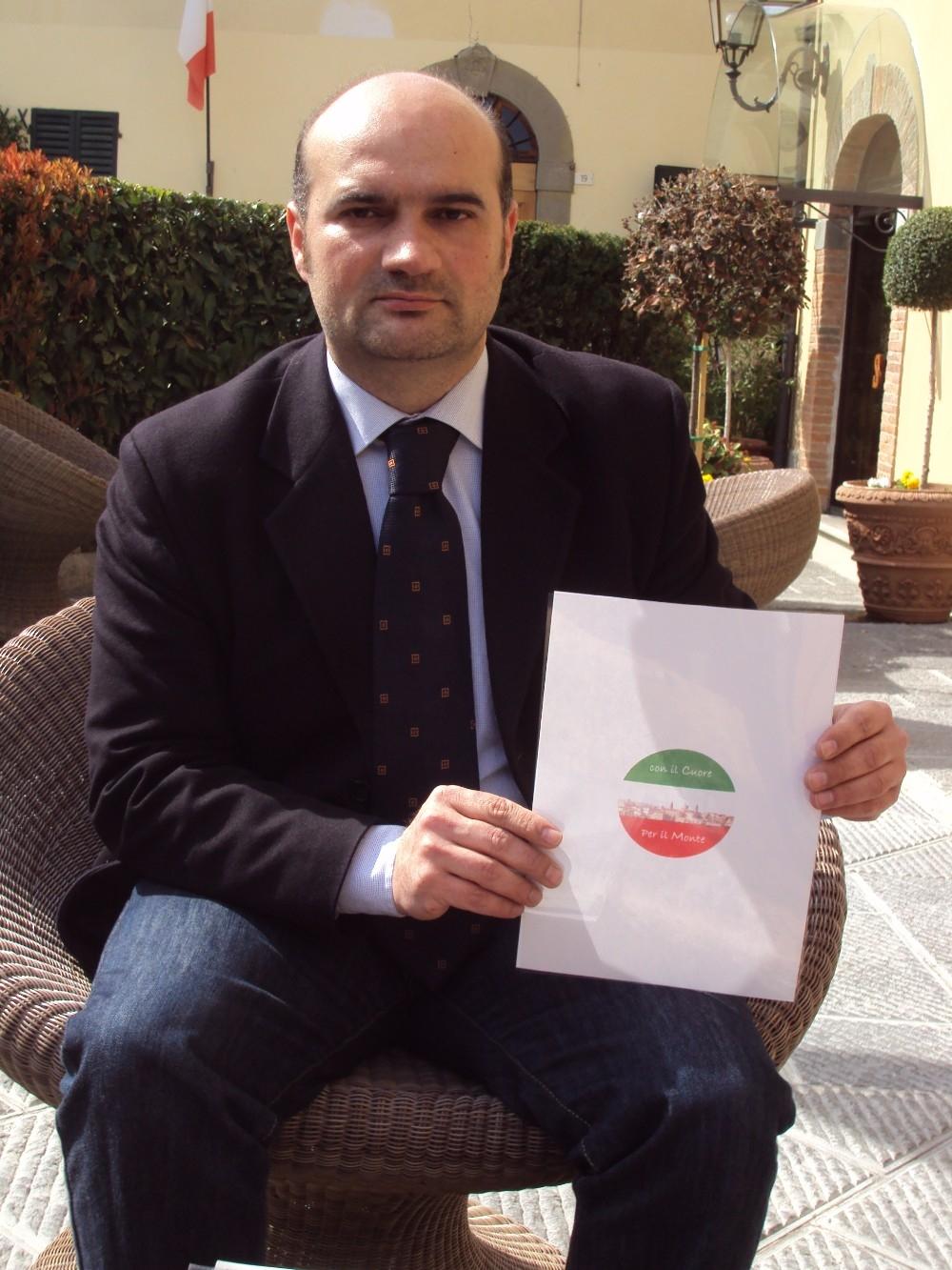 """Monte San Savino, Leonardo Bloise si candida con """"Con il cuore per il Monte"""""""