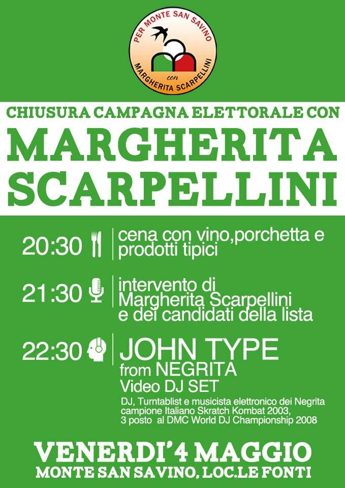 Scarpellini: grande festa venerdì a Le Fonti; con prodotti tipici e il DJ John Type (Negrita)