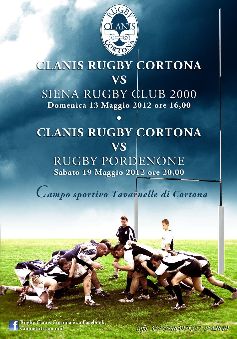 Clanis Rugby Cortona: ecco i prossimi impegni