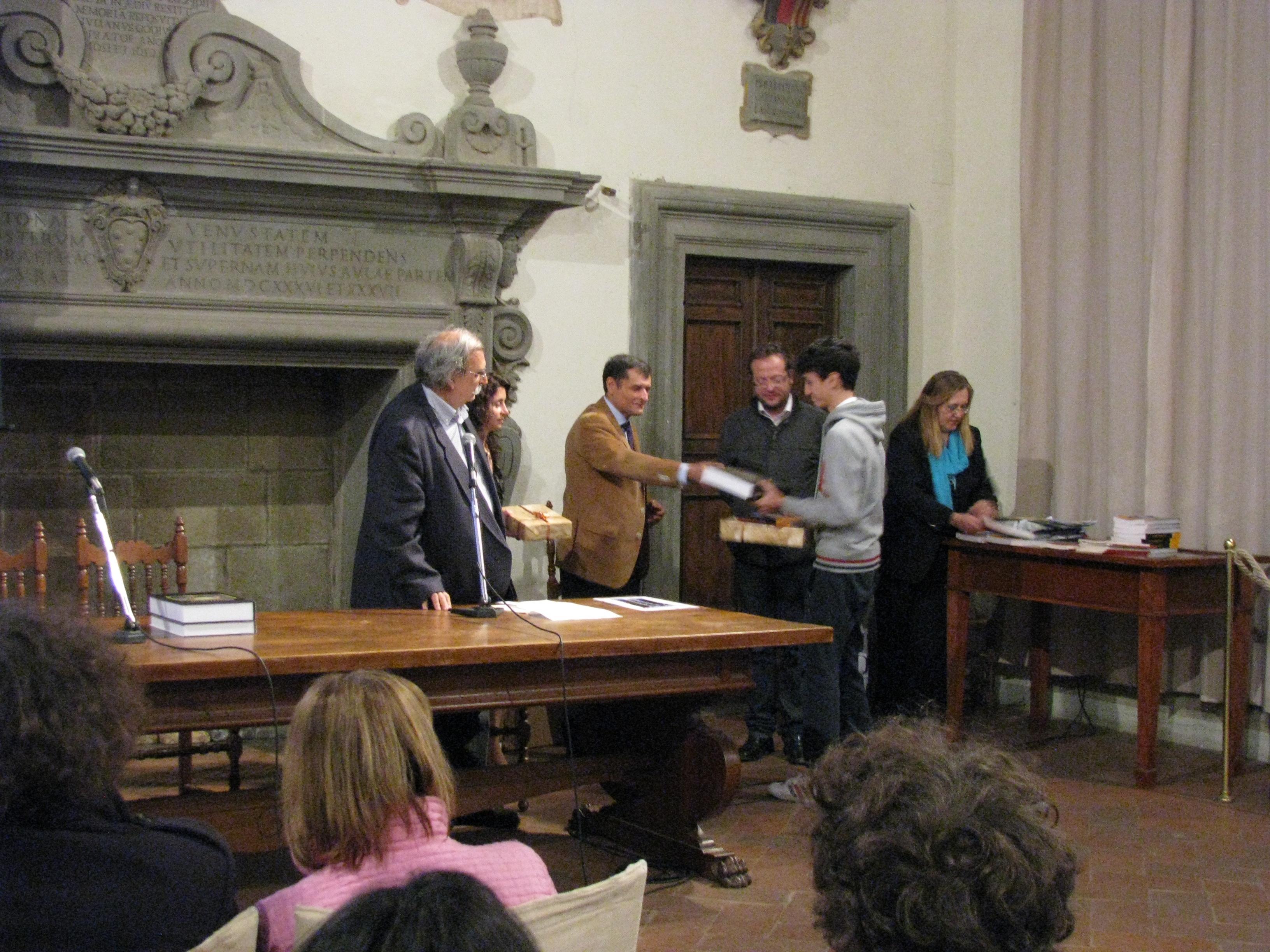 Cortona: premiati i finalisti dei Giochi della Chimica