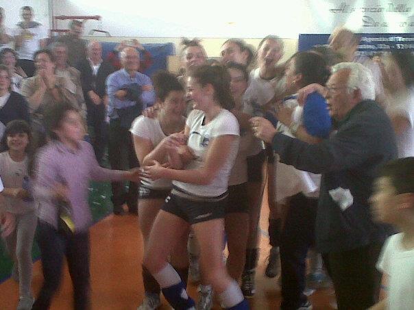 Cortona Volley: le ragazze promosse in serie C
