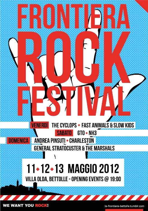 A Bettolle la IV edizione del Frontiera Rock Festival 2012