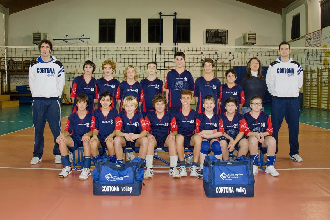 Cortona Volley: l'Under 13 maschile è campione provinciale