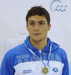Michele Santucci: è il giorno degli Europei, in vasca con la 4x100