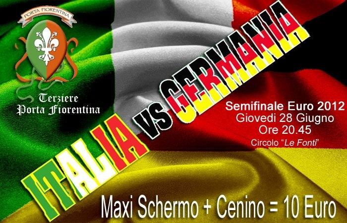 Italia - Germania? Seguitela a Porta Fiorentina