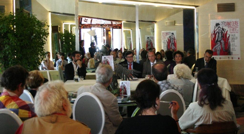 Presentato a Roma il 37esimo Cantiere Internazionale d'Arte di Montepulciano
