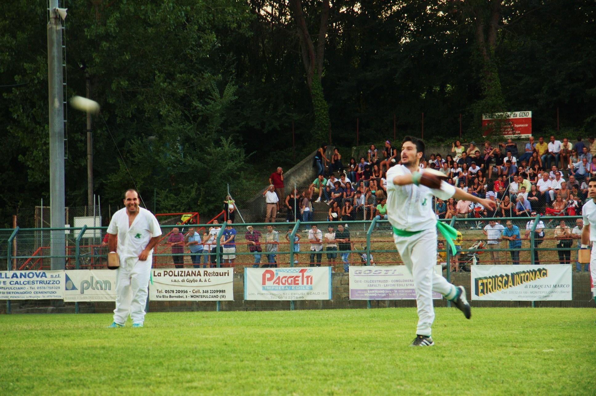 Chiusi: Granocchiaio si conferma campione di palla al bracciale