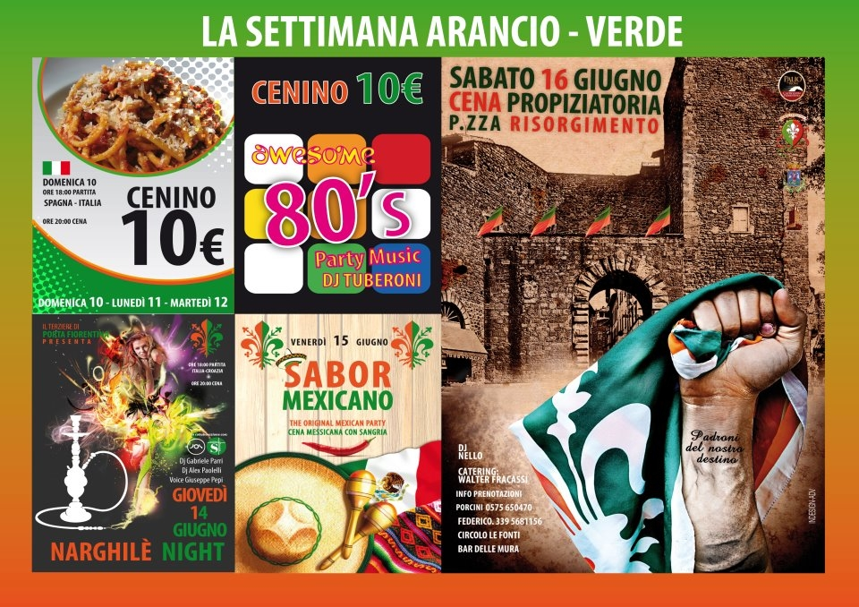 Porta Fiorentina: gli appuntamenti della Settimana ArancioVerde