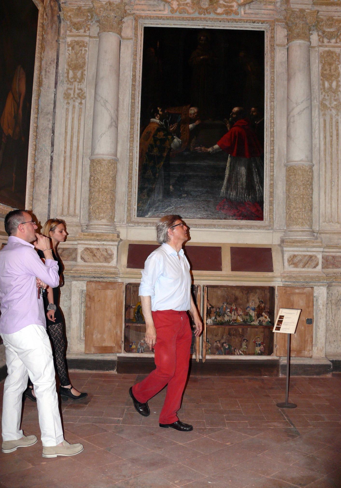 Castiglion Fiorentino: Vittorio Sgarbi ha visitato il Museo