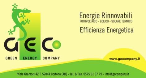 GECo Srl Green Energy Company