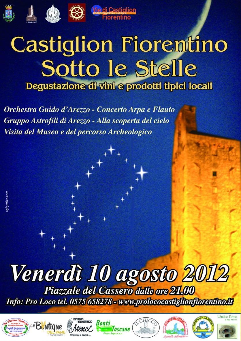 Calici di stelle a Castiglion Fiorentino