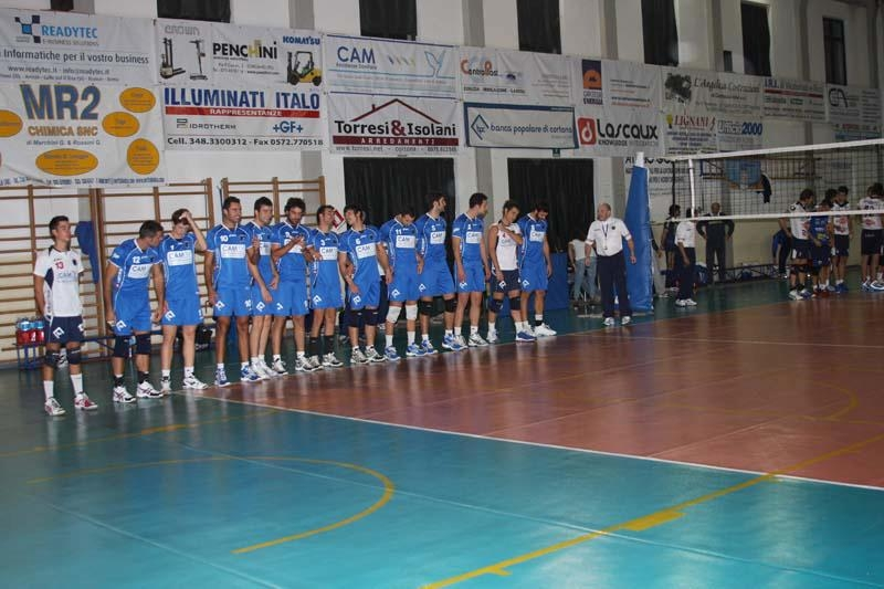 Il Cortona Volley riparte dalla serie C con un terzo della squadra ed un nuovo allenatore