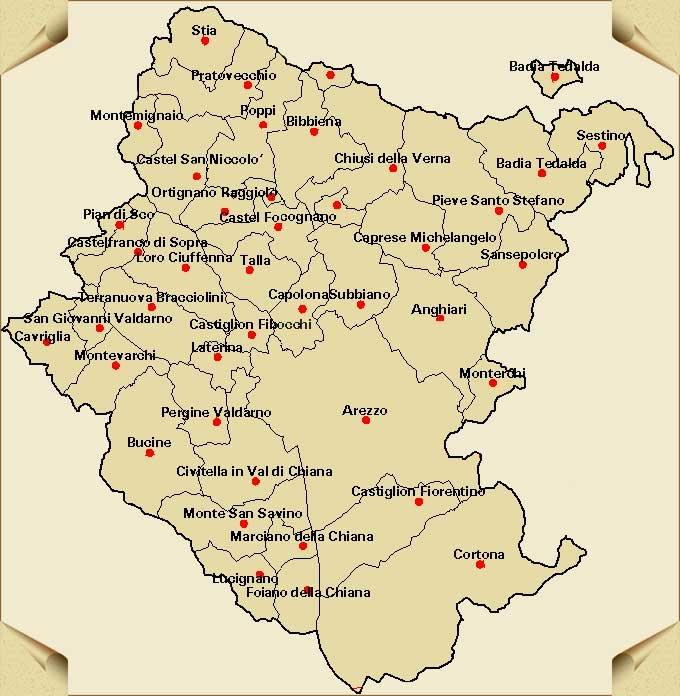 Arezzo provincia, si comincia a ragionare