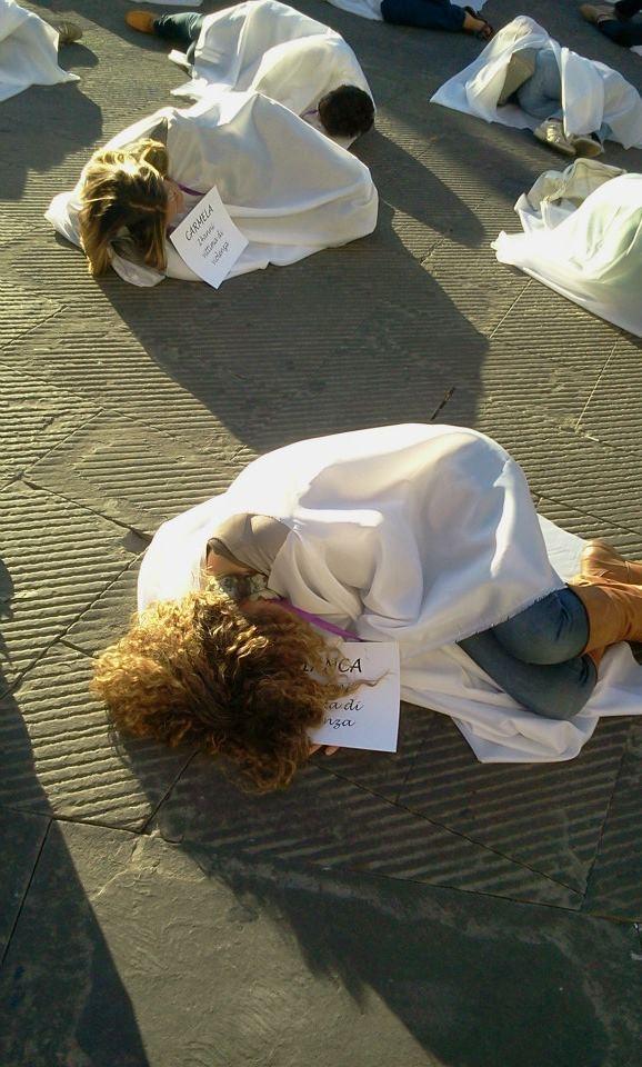 Violenza sulle donne: riflessioni a margine del flash mob di ieri a Foiano