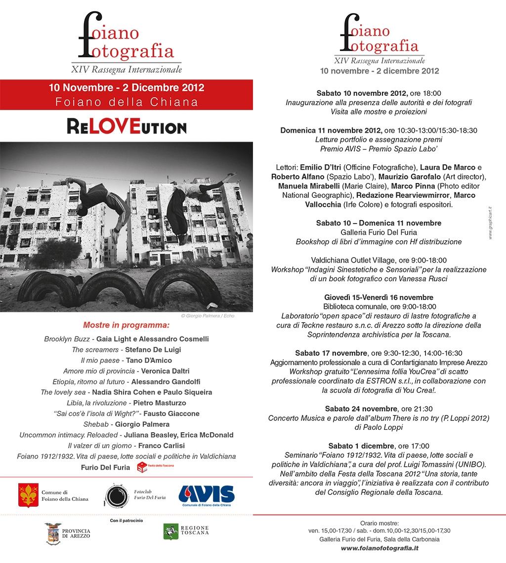 Foiano Fotografia: programma completo di mostre, seminari e altri eventi