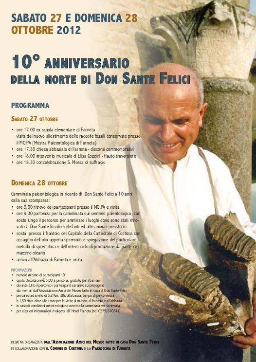 Cortona: una due giorni per celebrare la figura di Don Sante Felici