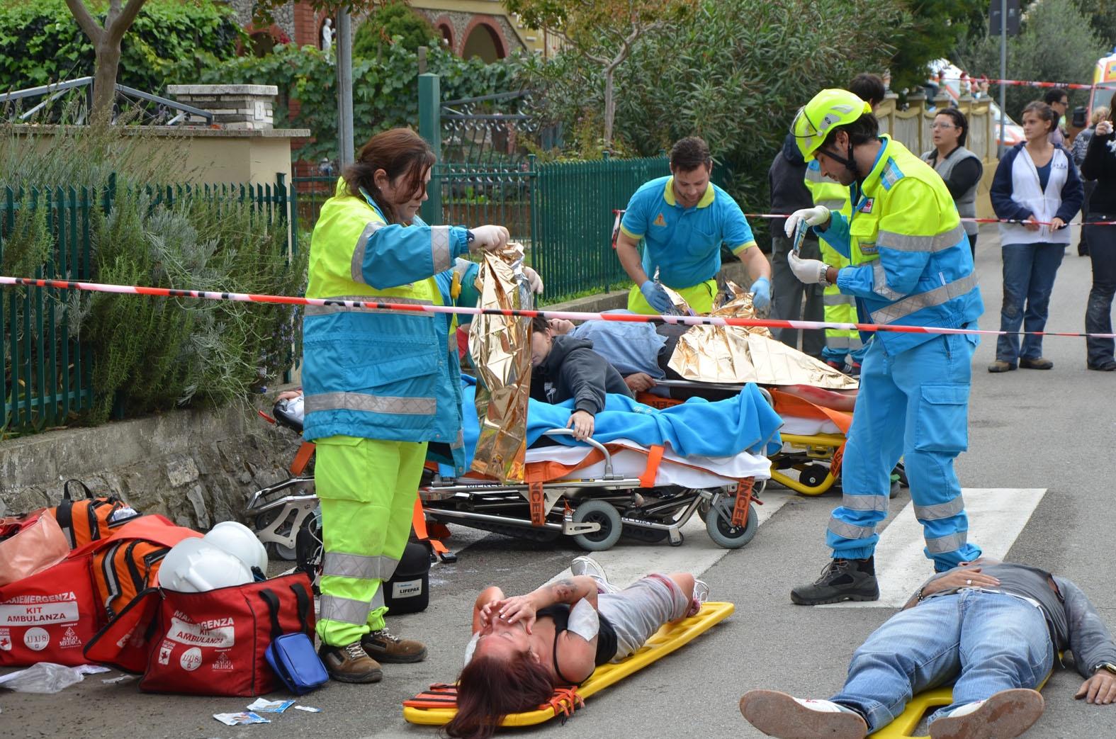 Maxiesercitazione di protezione civile a Terontola: reportage e foto