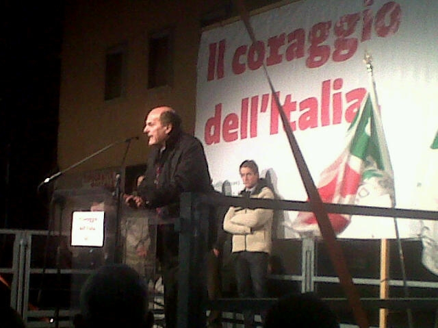 Ad Arezzo il Bersani - Zapata