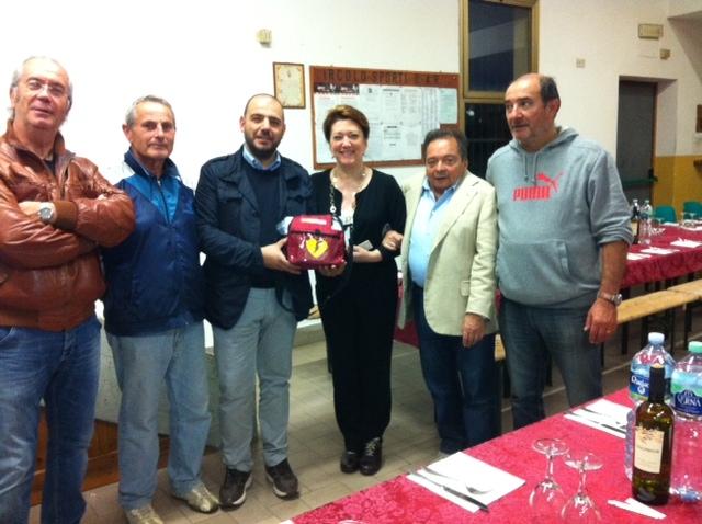 Consegnato il defibrillatore ad Alberoro