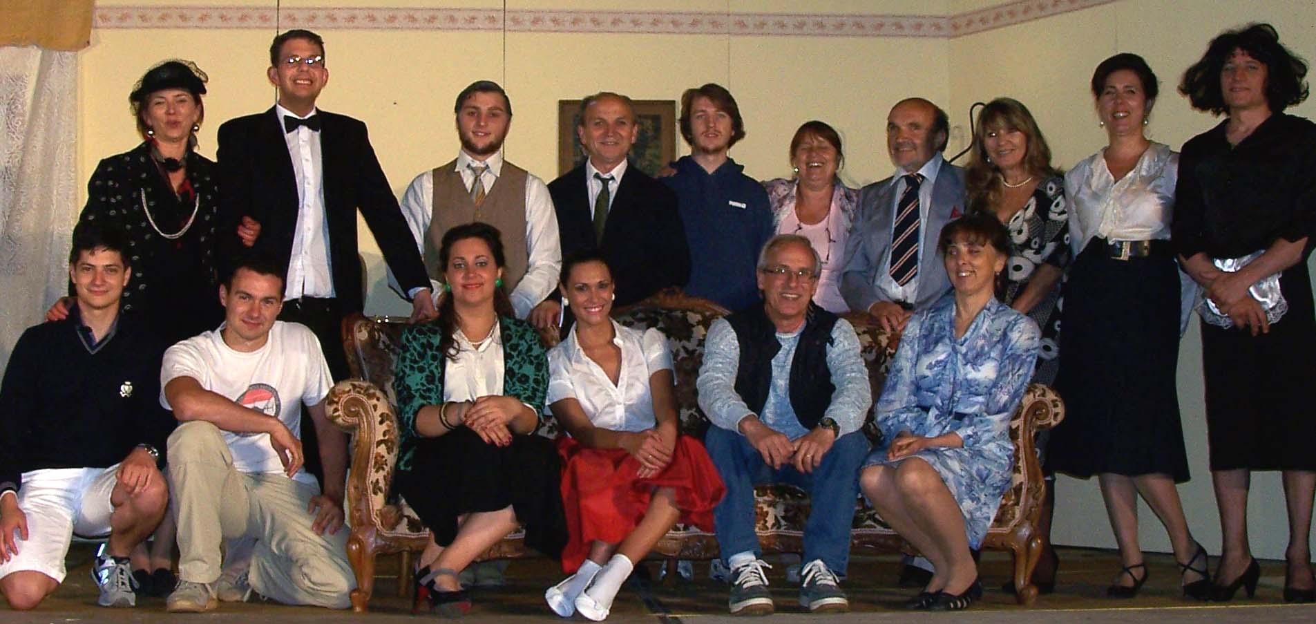 La Compagnia Il Cilindro  inaugura la stagione teatrale di Lucignano