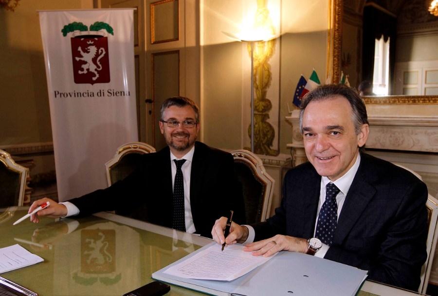 Post alluvione: a Siena Rossi firma un accordo da 8 milioni di euro