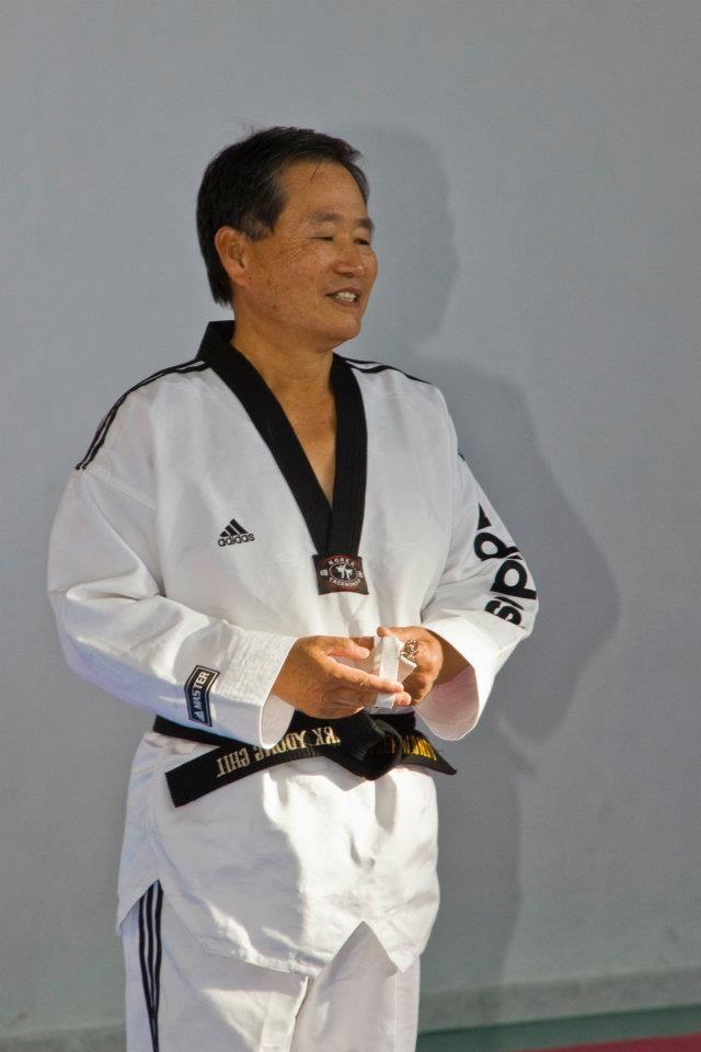 Kouros Taekwondo: stage con il maestro Park