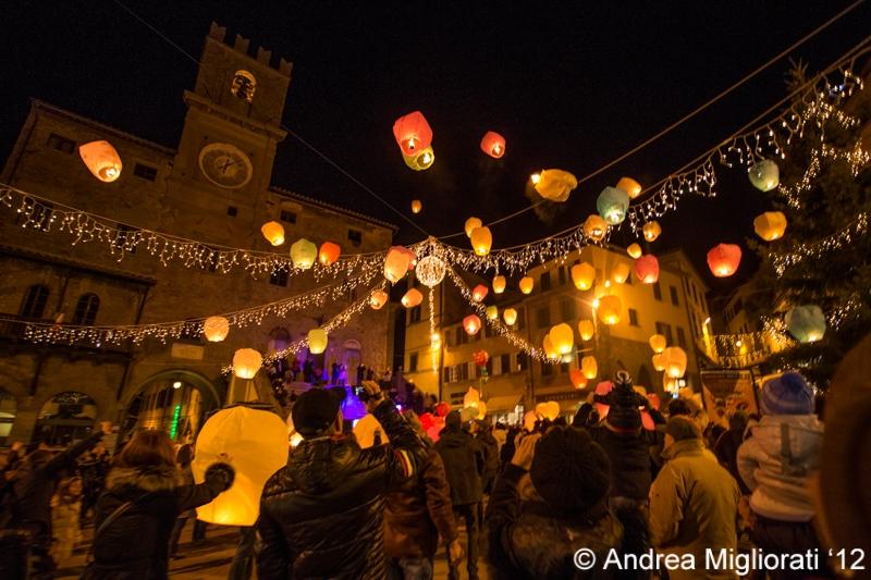Cortona: le foto del Lantern Christmas Show