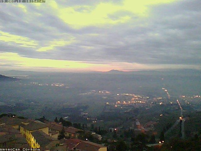Cortona ha il suo osservatorio meteorologico!
