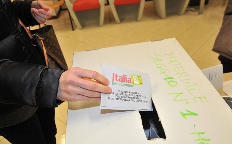 Primarie PD: seggi aperti dalle 8. Ad Arezzo in lizza in 4