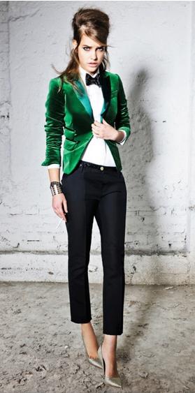 Pinterest emerald jacket