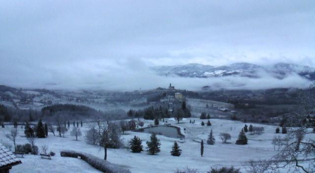 Ha nevicato in montagna e sino a 400m in Casentino