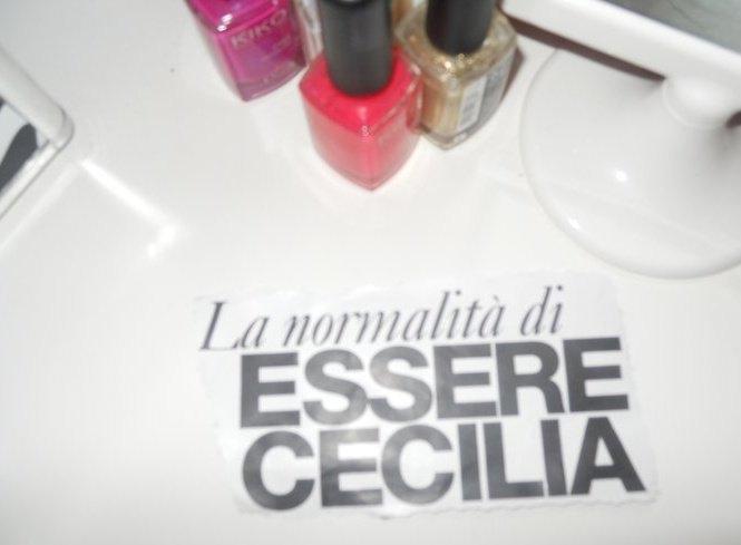L'importanza di essere Cecilia