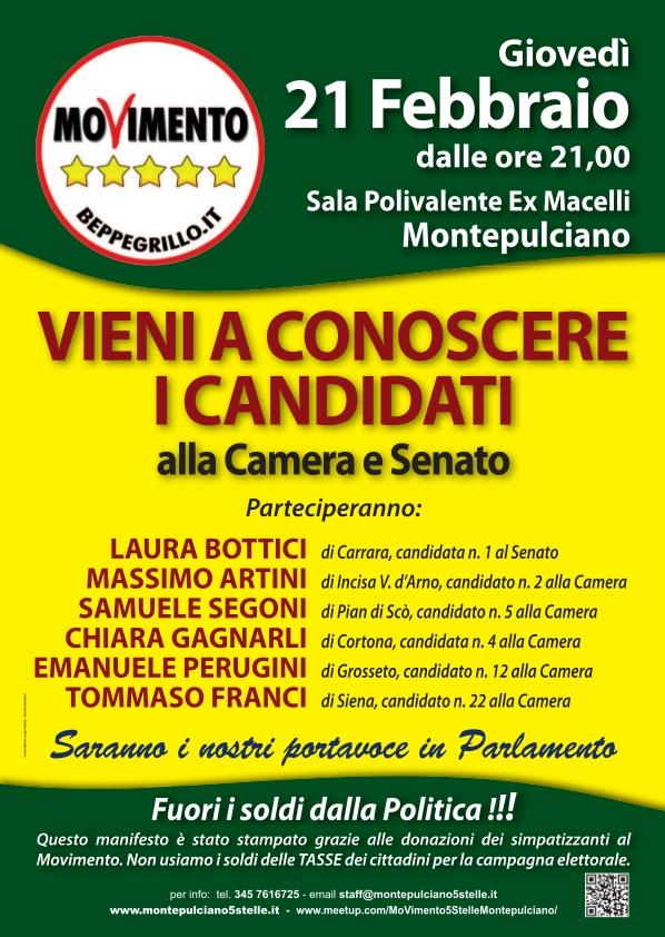 M5S Montepulciano: