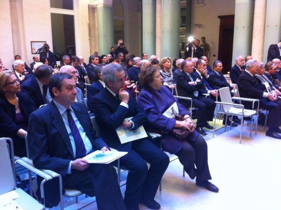 Ben quattro ministri alla consegna del premio alla Bpc