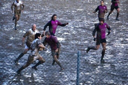 Rugby: nel fango di Chianciano un buon Clanis, sconfitto con onore