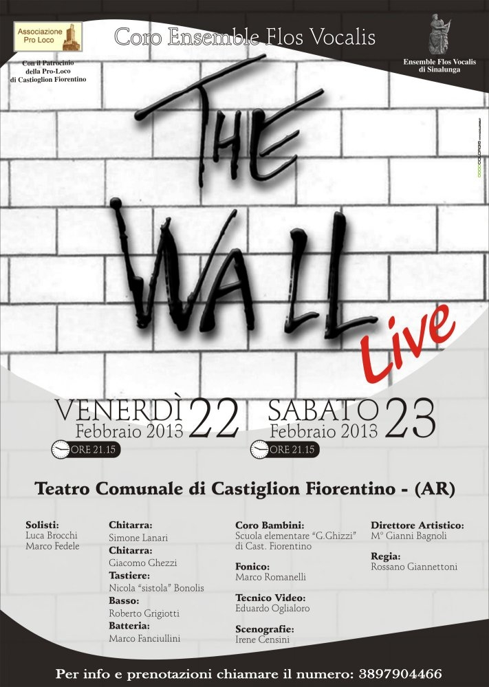 Due serate dedicate al mito Pink Floyd al Teatro di Castiglion Fiorentino
