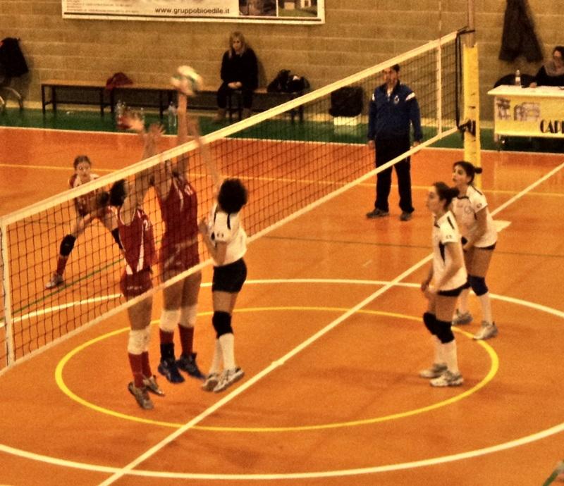Volley femminile, Cassero campione provinciale Under14