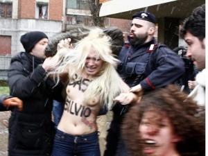 Ripensando all'episodio delle Femen e Berlusconi