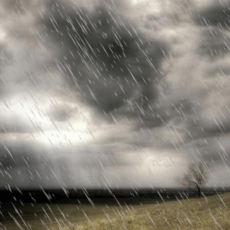Nuvole e pioggia anche sul ponte pasquale