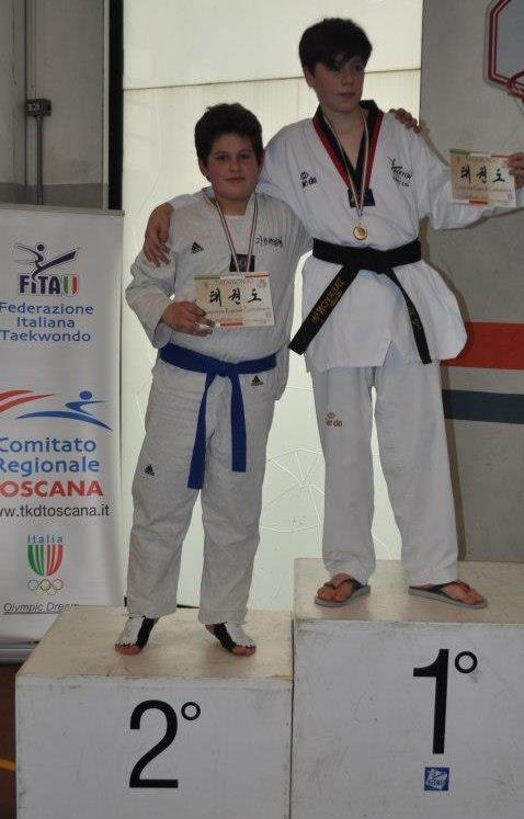 Grandi risultati per i giovani della Kouros Taekwondo