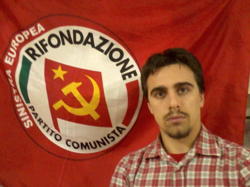 Andrea Mazzeo nuovo segretario cortonese di Rifondazione Comunista