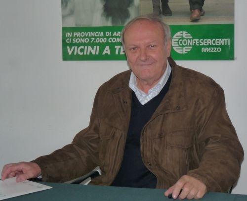 Elio Vitali confermato alla guida di Confesercenti Valdichiana