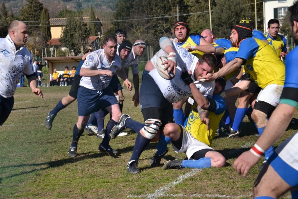 Rugby: il Clanis gioca bene ma soccombe contro Garfagnana